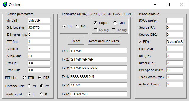 My Apache Labs rig setups | SM7SJR webpages